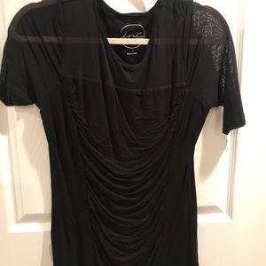 Inc Black short sleeve super comfortable shirt